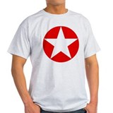 Red Disc Star T-Shirt