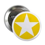 "Yellow Disc Star 2.25"" Button (10 pack)"