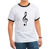 Treble Clef T