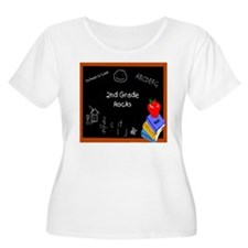 Chalk Board 2nd Grade T-Shirt