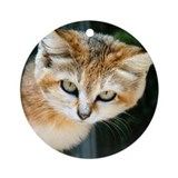 Sand Cat Ornament (Round)