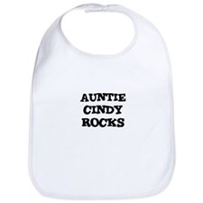 AUNTIE CINDY ROCKS Bib