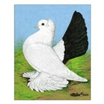 Russian Pigeon Small Poster