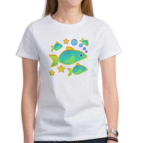 Happy Fish Women's T-Shirt