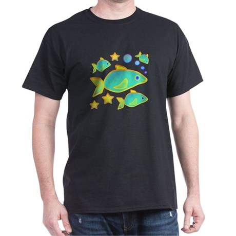 Happy Fish Dark T-Shirt