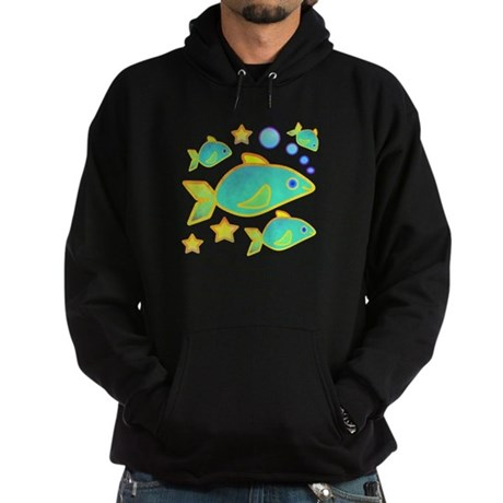 Happy Fish Hoodie (dark)