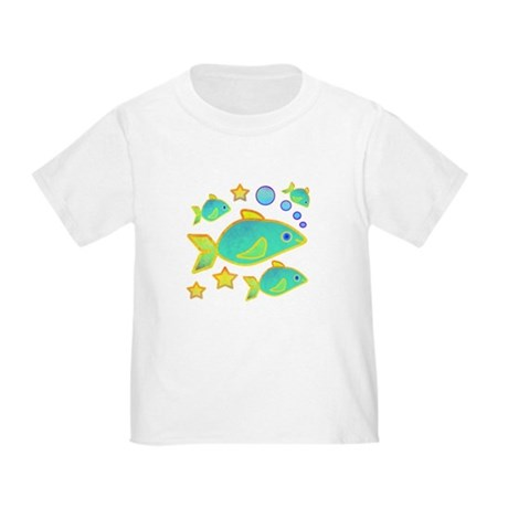 Happy Fish Toddler T-Shirt