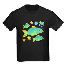 Happy Fish Kids Dark T-Shirt