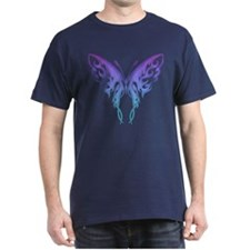 Butterfly Tat BluenGreen (91) T-Shirt