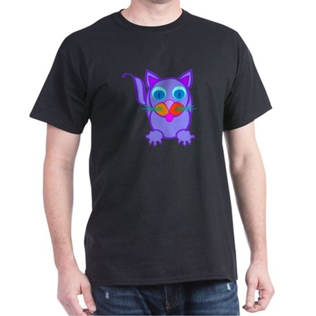 Silly Cat Dark T-Shirt