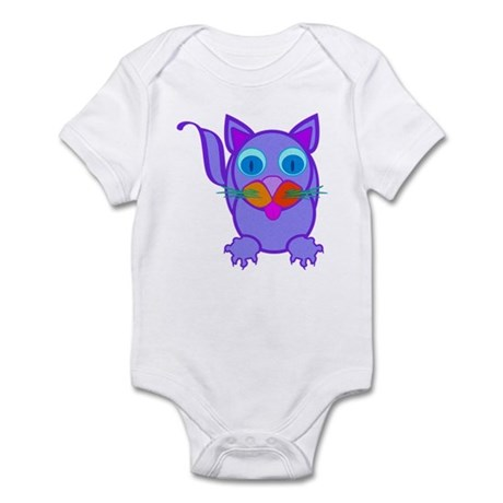 Silly Cat Infant Bodysuit