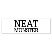 Dexter Morgan: Neat Monster Bumper Sticker (50 pk)