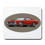 66-67 Red GTO Mousepad