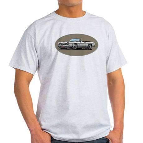 66-67 White / Silver GTO Convertible Light T-Shirt