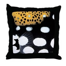 Clown Triggerfish Throw Pillow
