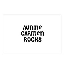 AUNTIE CARMEN ROCKS Postcards (Package of 8)