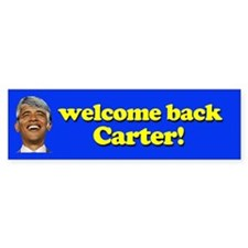 Welcome Back Carter! Bumper Sticker (10 pk)