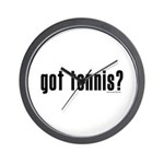 got tennis? Wall Clock