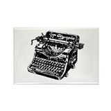 """Vintage Typewriter"" Rectangle Magnet"