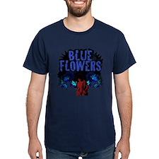 Dr. Octagon Blue Flowers T