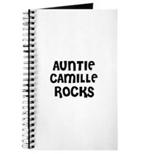 AUNTIE CAMILLE ROCKS Journal
