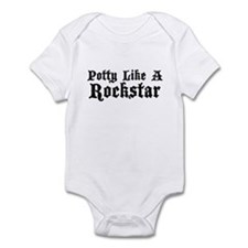 Potty Like A Rockstar Infant Bodysuit