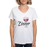 Zinner Women's V-Neck T-Shirt