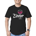 Zinner Men's Fitted T-Shirt (dark)