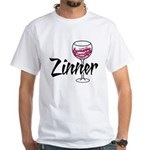 Zinner White T-Shirt