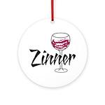 Zinner Ornament (Round)