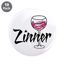 "Zinner 3.5"" Button (10 pack)"