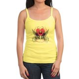 Wine Girl Heart Tank Top