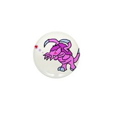 Unique Monsters Mini Button