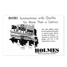 Holmes = Quality Postcards (Package of 8)