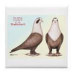 Shakhsharli Pigeon Standard Tile Coaster