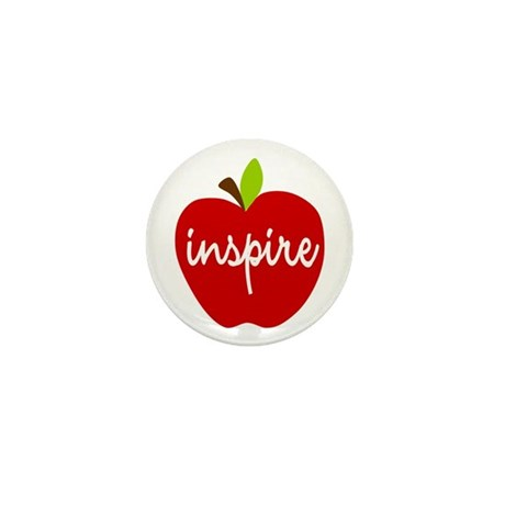 Inspire Apple Mini Button (10 pack)