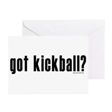 got kickball? Greeting Cards (Pk of 10)