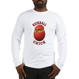 Kickball Chick Long Sleeve T-Shirt