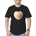 Volleyball Love Men's Fitted T-Shirt (dark)