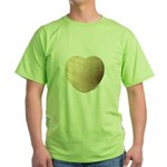 Volleyball Love Green T-Shirt