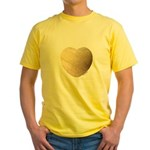 Volleyball Love Yellow T-Shirt