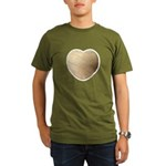 Volleyball Love Organic Men's T-Shirt (dark)
