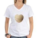 Volleyball Love Women's V-Neck T-Shirt