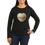 Volleyball Love Women's Long Sleeve Dark T-Shirt