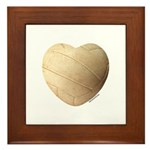 Volleyball Love Framed Tile