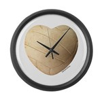 Volleyball Love Large Wall Clock