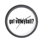 got volleyball? Wall Clock