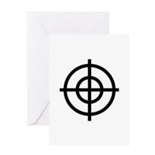Black Sight Greeting Card