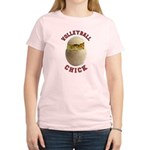 Volleyball Chick 2 Women's Light T-Shirt