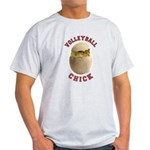 Volleyball Chick 2 Light T-Shirt